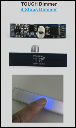 touch dimmer led