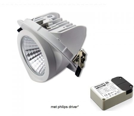 banaanspot led met philips driver